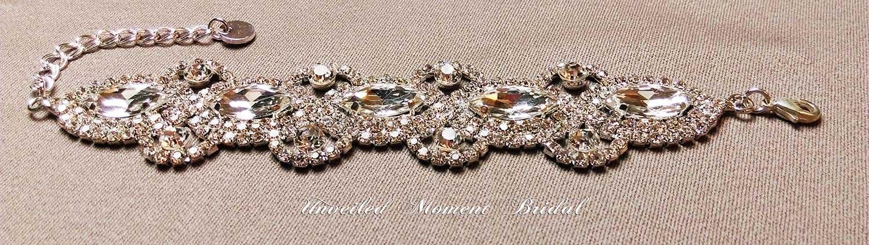 首飾 - 古典仿石手鏈 (UA006002) Accessories - Classic-style Rhinestone Bracelet